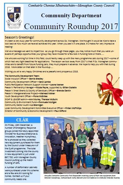 Monaghan County Council Community News Xmas 2017