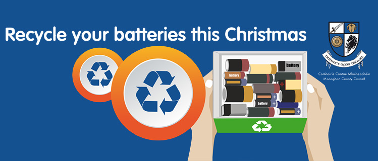 Recycle your batteries this Christmas