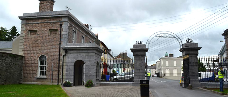 Gates at Lough Muckno