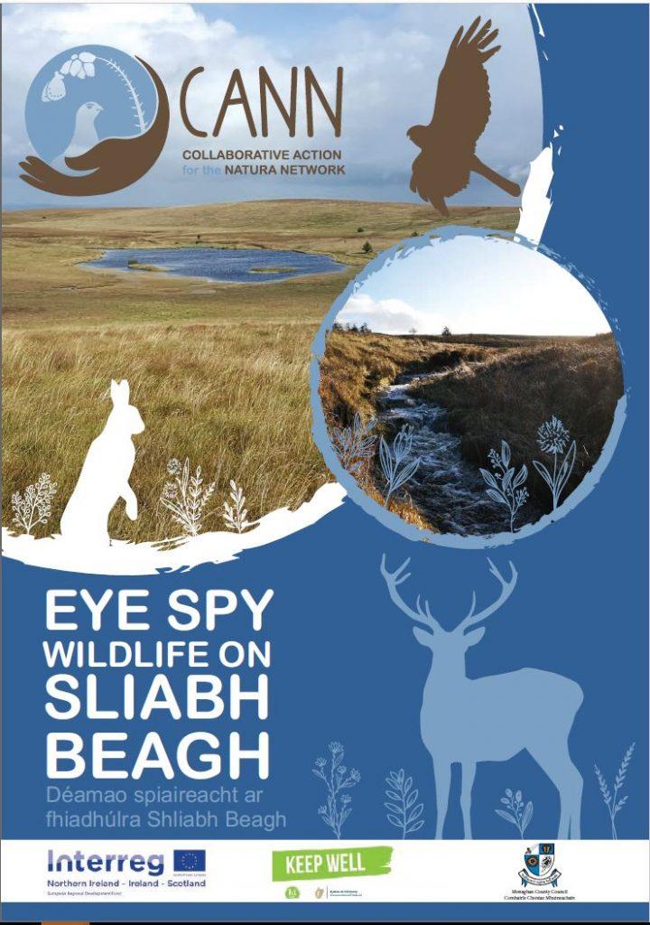 Eye Spy Wildlife on Sliabh Beagh Booklet