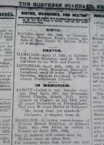 Northern Standard Obituaries