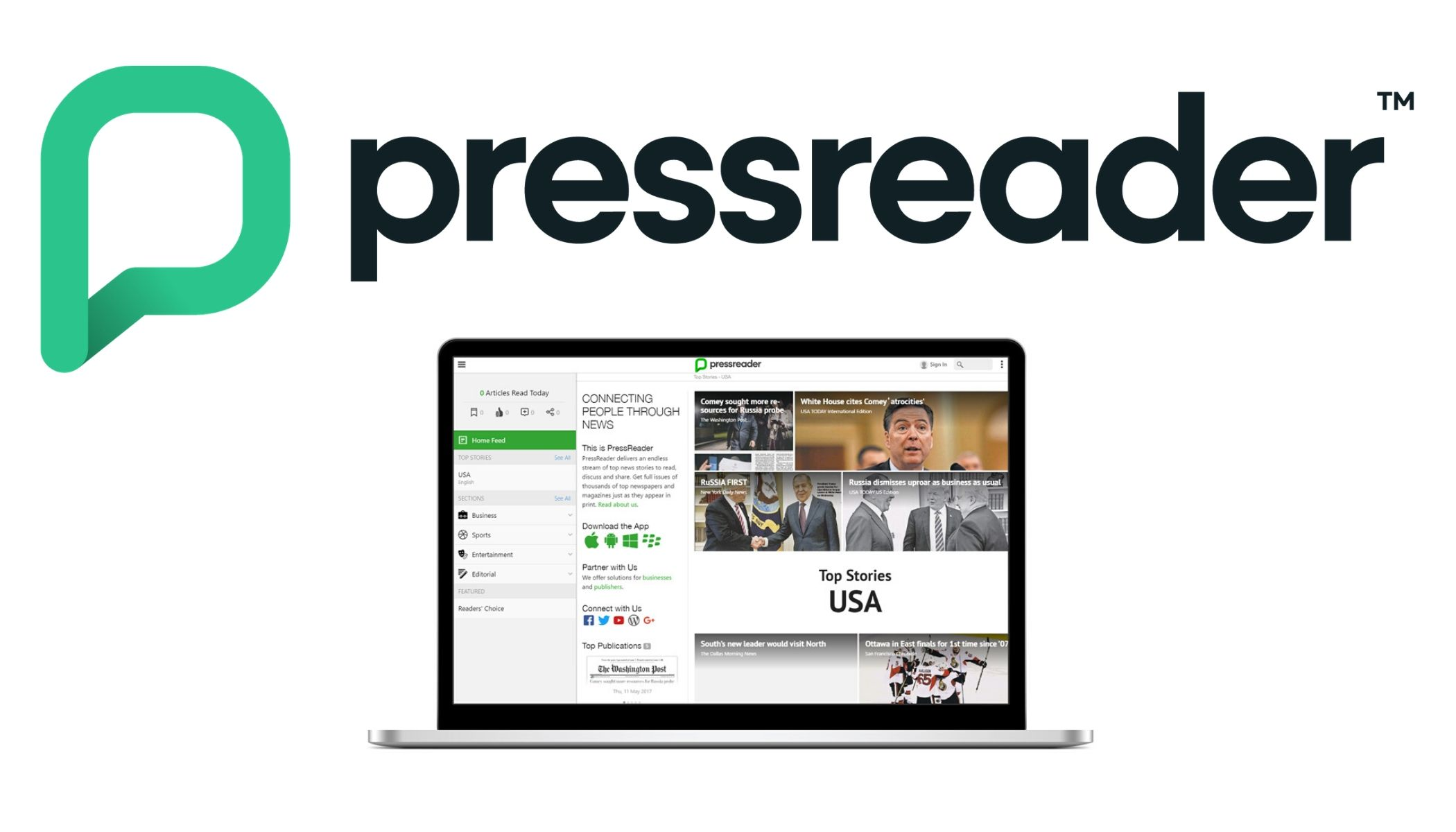 Pressreader Logo