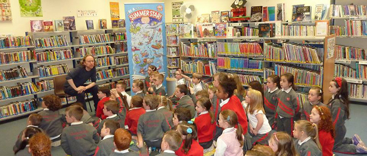 Story Time at Monaghan Town Library