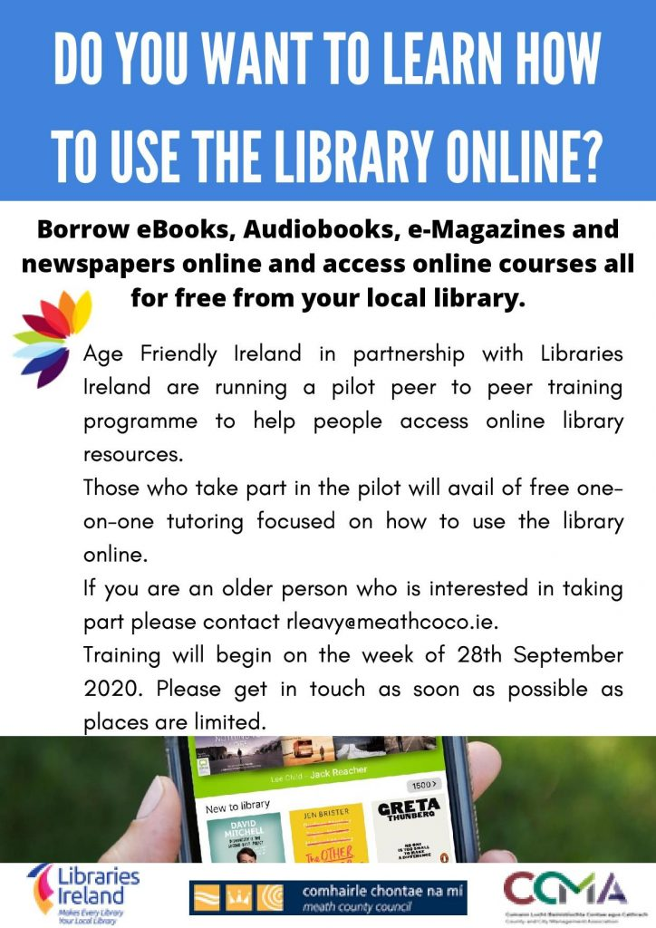 Online help for the Online Library.