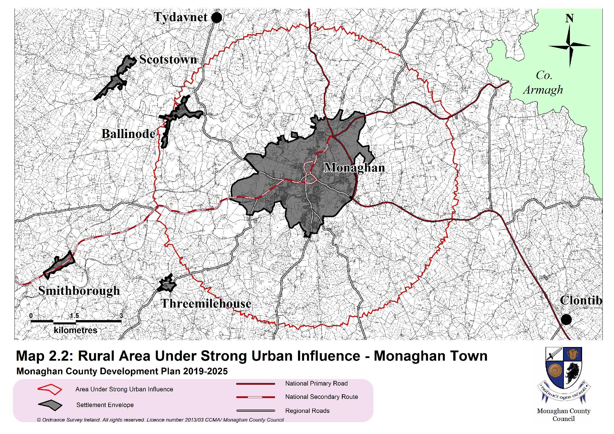 Detailed Map Of Ireland Pdf.Map 2 2 Rausui Monaghan Pdf Planning