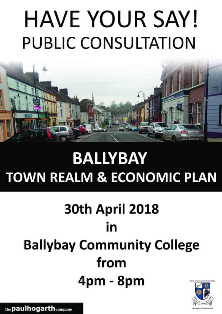 Flyer Public Realm Economic Plan