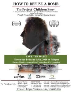 """""""How to Defuse a Bomb: The Project Children Story"""" Documentary Screening"""