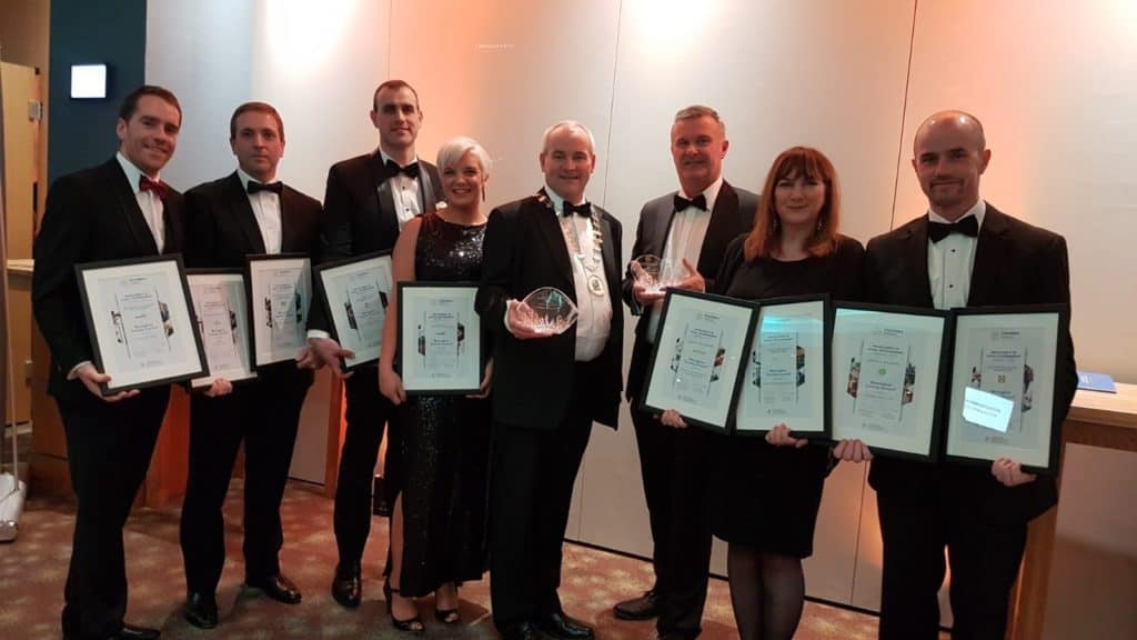 Monaghan County Council picks up two awards at the 2018 Chambers Ireland Excellence in Local Government Awards