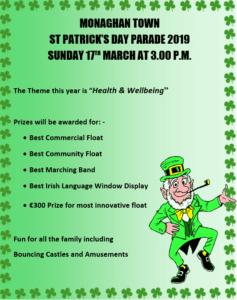 Monaghan Town St. Patrick's Day Parade 2019