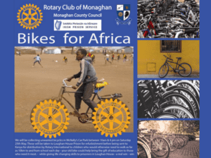 Rotary Bike Collection Event