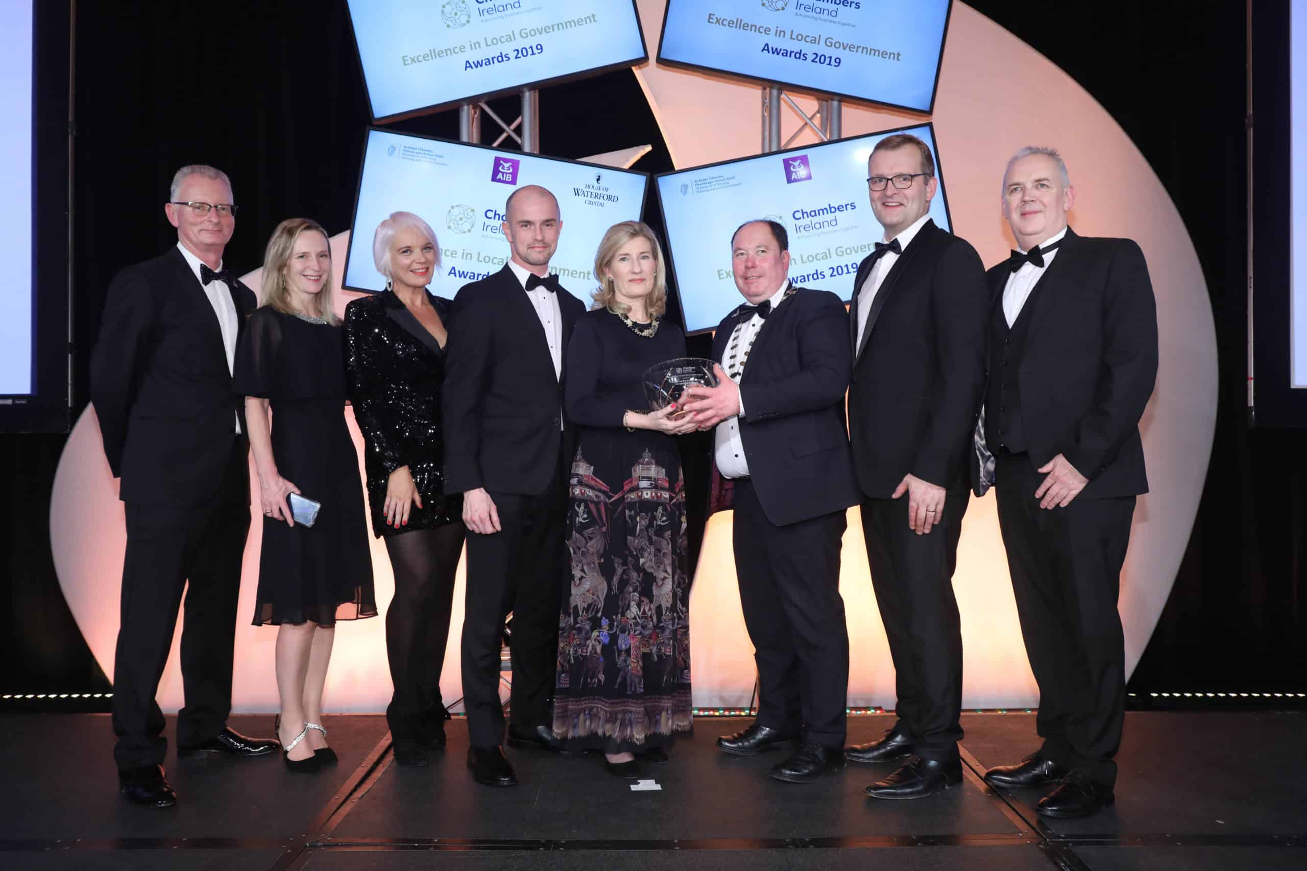 Monaghan County Council success at the 2019 Chambers Ireland Excellence in Local Government Awards
