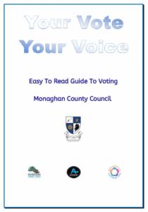 Your Vote Your Voice- Easy to Read Guide to Voting in the 2020 General Election