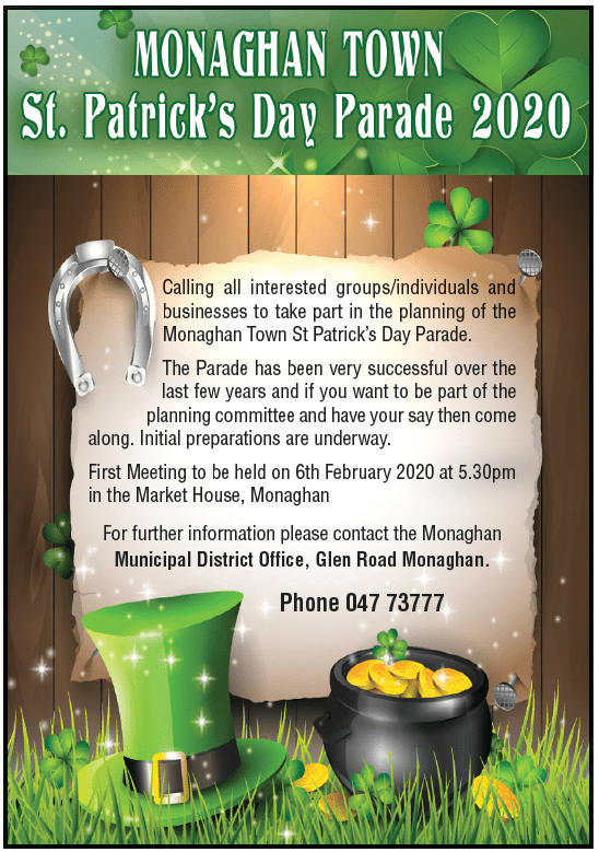 Monaghan Town St. Patrick's Day Parade 2020