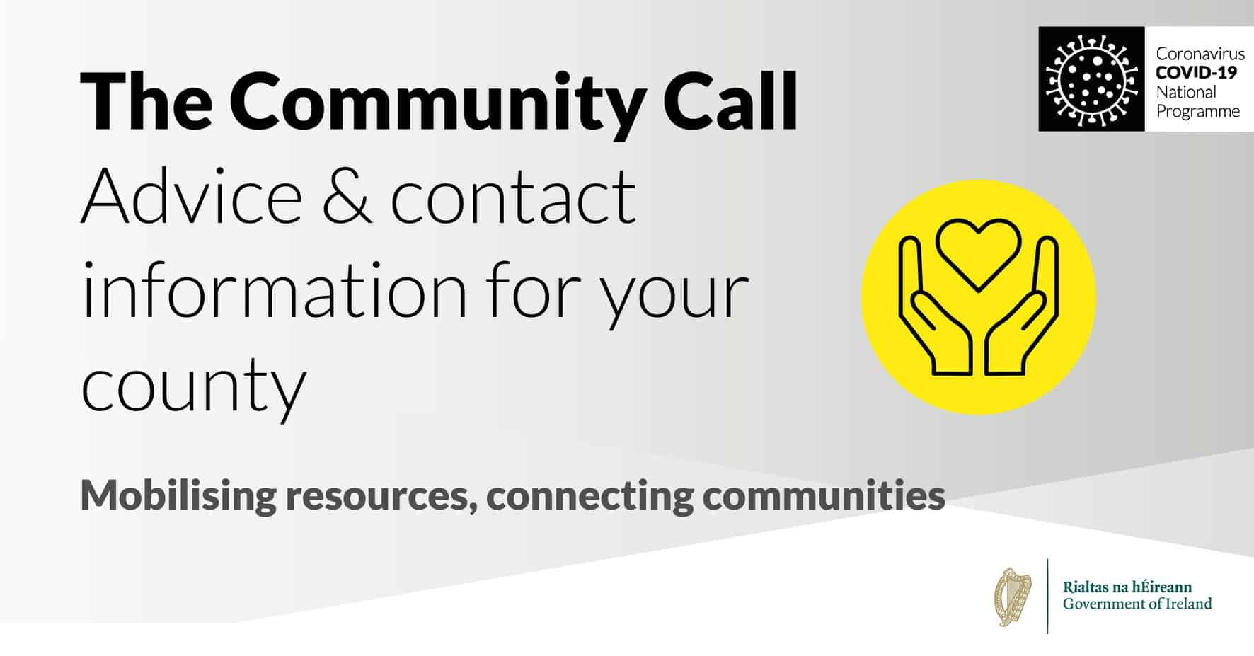 The Community Call - Advice and Contact Information for Your County